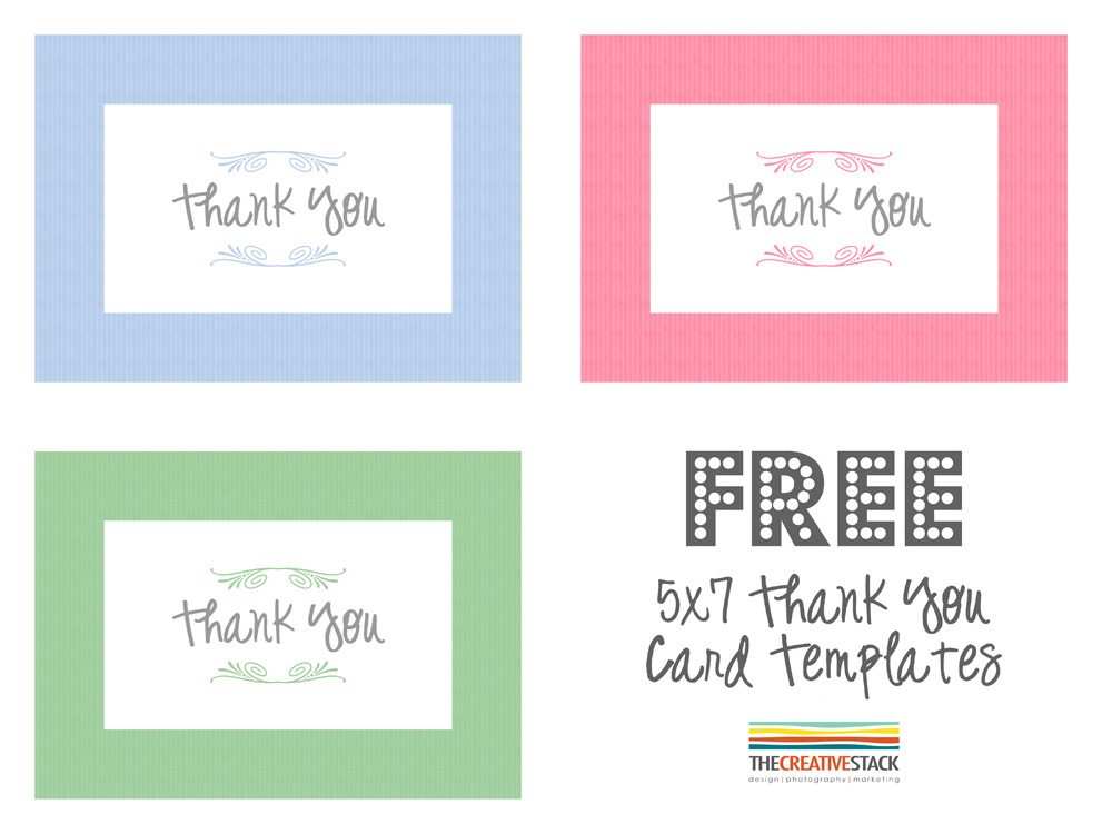 It is an image of Universal Thank You Note Template Free
