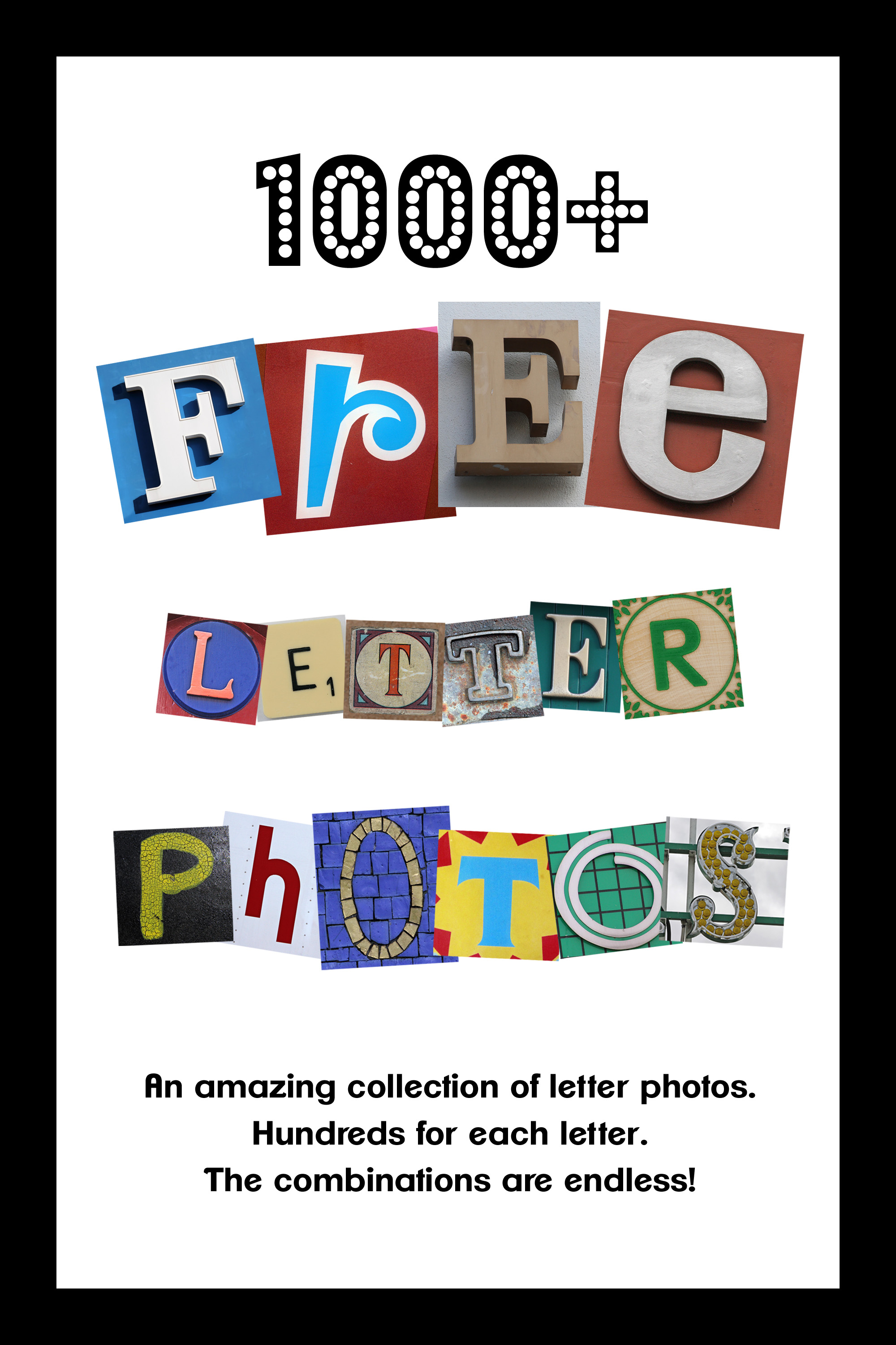 FREEPhotoLetters