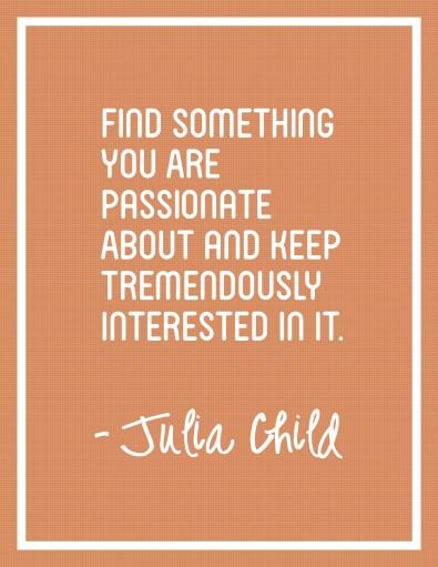 Julia Child Quote Free Printable Poster