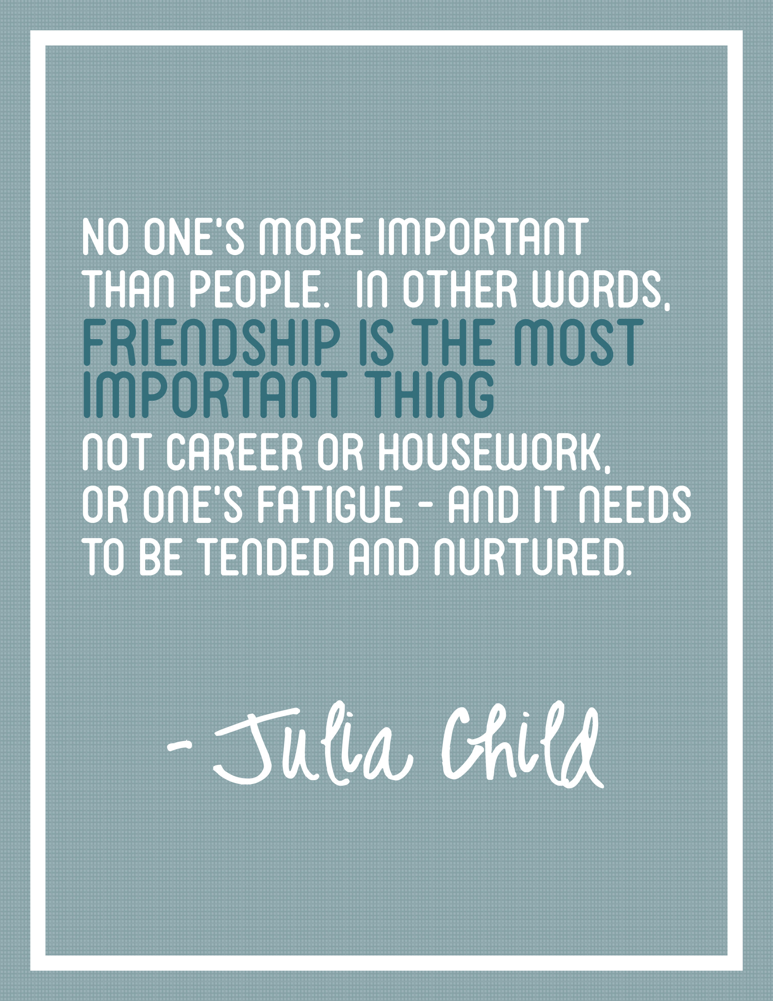 Freebie friday julia child quote posters thecreativestack happy freebie friday advertisements voltagebd Choice Image