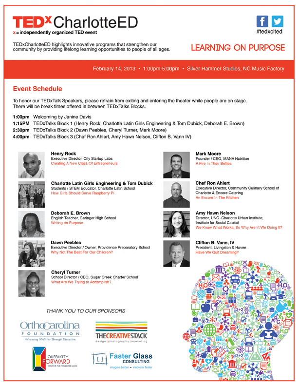 Program_TEDxCharlotteED2013